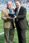 46 John Key presented with memento by Paul Fletcher (CCFC)