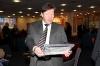 45 Ray Ranson (CCFC) admires Dinko's gift
