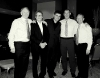 Roy Barry Billy Rafferty & Willie Carr with Dinko & Nicky