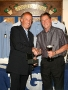 Gold Day 2008 Mick Kearns receives a prize from Joe Elliott (CCFC)