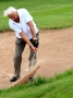 gd2012- Action: Ken Brown bunkers out