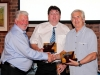 gd2012- Kirk presents prizes to Dennis Mortimer &
