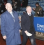 Legends08 Vernon Griffiths & Peter Wyer pitchside