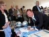 028 Noel Whelan signs