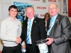 094 Ian Wallace & raffle winner (with Frank Pritchard CCFPA committee)
