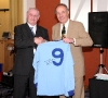 2010 George Hudson presents Joe Elliott with signed 1960s shirt