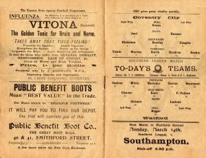 Watford (h) 12-03-1910 pp00-01