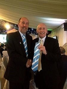 Greg(right) & CCFPA's Jim Brown