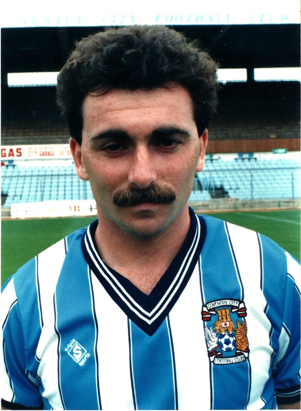 Micky in 1986-87