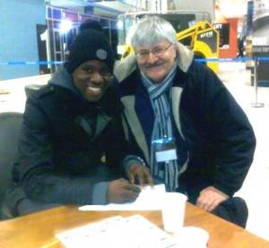 Gail Bigirimana signs up Feb2012-MY tidied