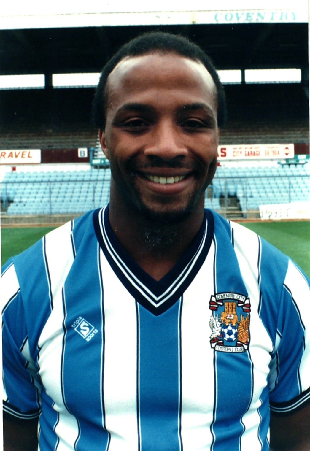 ... list has just been published with fans still bemused as to where the Club's home matches will be played, CCFC Legend (and CCFPA member) Cyrille Regis is ... - Regis-C-Cyrille-1987