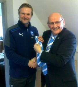 CCFPA Vice Chair Billy Bell signs Steven up last season