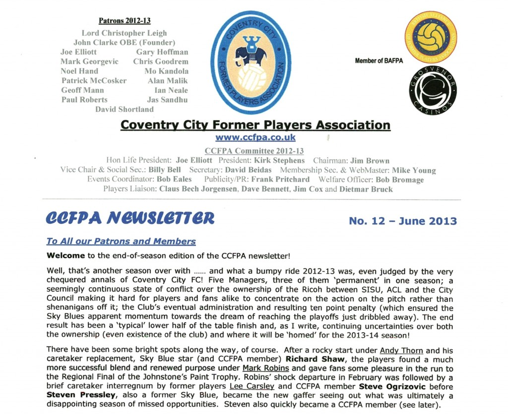 CCFPA Newsletter June No12 scan- front half