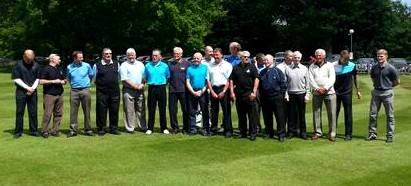 Golf Day 2013- 1st Team Photo red