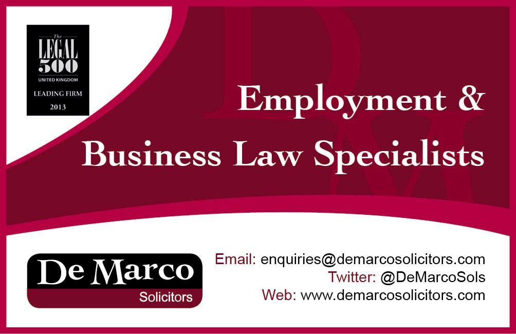 De Marco New Business Card Dec 2013