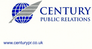 Century PR Logo with website