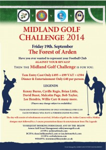 Midland Golf Challenge 2014 Flyer