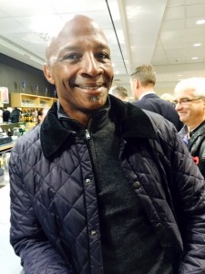 'Big Cyrille' before the game