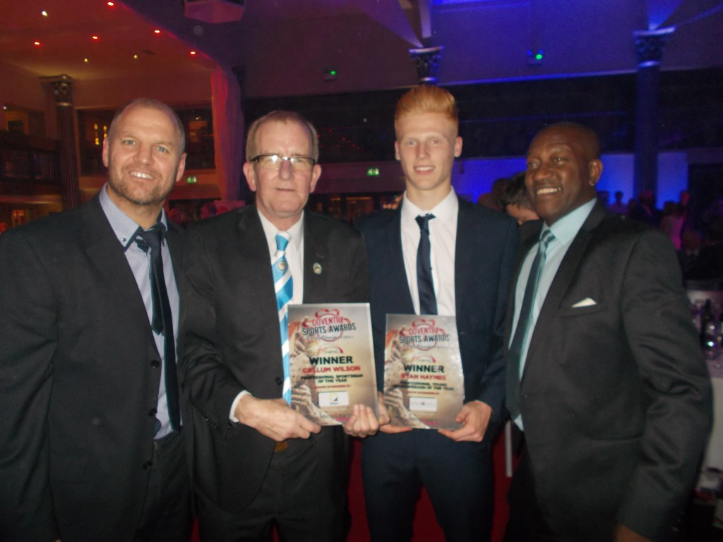 Bussty Bob Ryan & Benno with the Awards