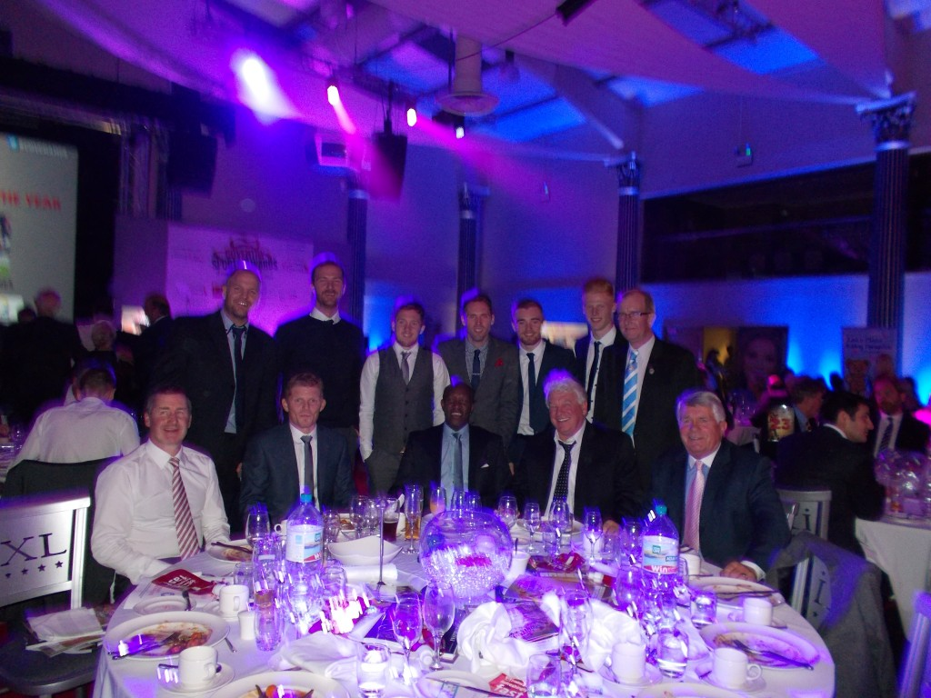 The CCFPA Table at the Awards