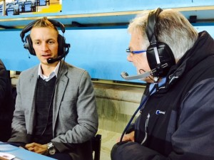 Bakes with BBC CWR's Stuart Linnell