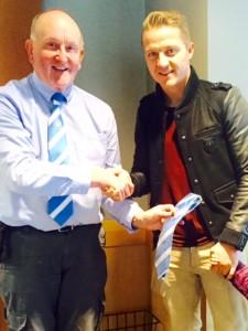 Gary McSheffey signs