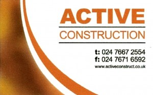 Active Business Card