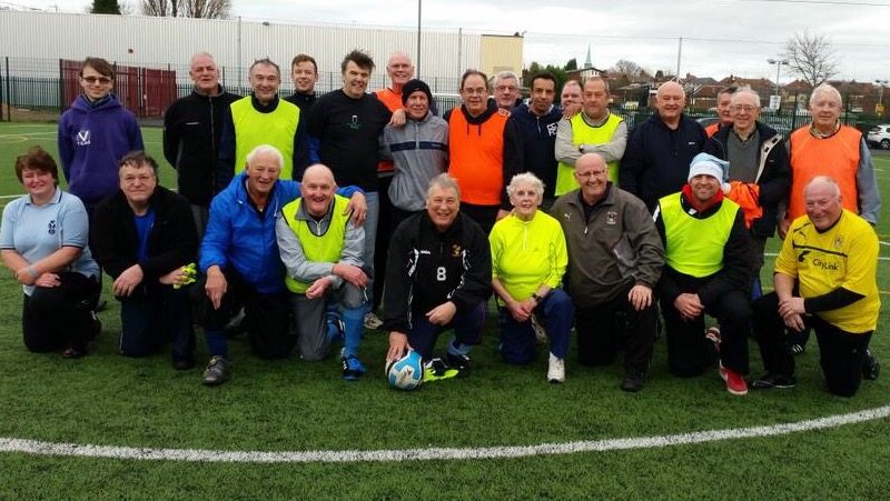 Walking Football Participants 18-12-2014