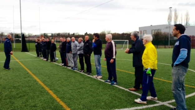 Walking Footballers Get Set Jan2015