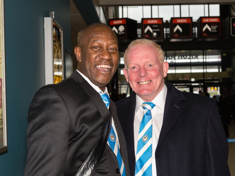'Benno' Welcomes 'Wally' to Legends Day