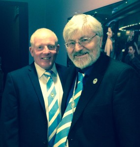 Ian with CCFPA's Mike Young