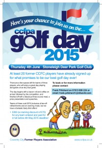 CCPFA Golf Day 2015 Poster