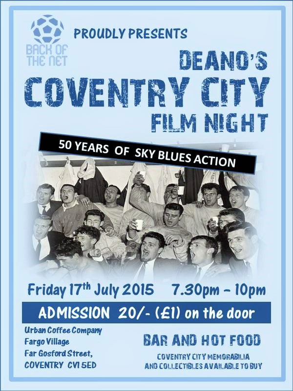 Dean's Film Night 17-07-2015