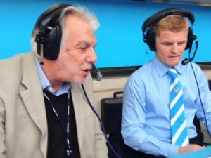 BBC's Stuart Linnell with CBJ
