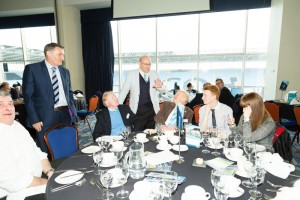 Tony Mowbray meets some of the Legends in 2015