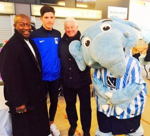 Benno with Cian Harris, Kirk & Sky Blue Sam in the FZ