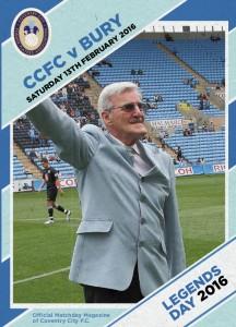 CCFPA Legends 2016 Programme Front