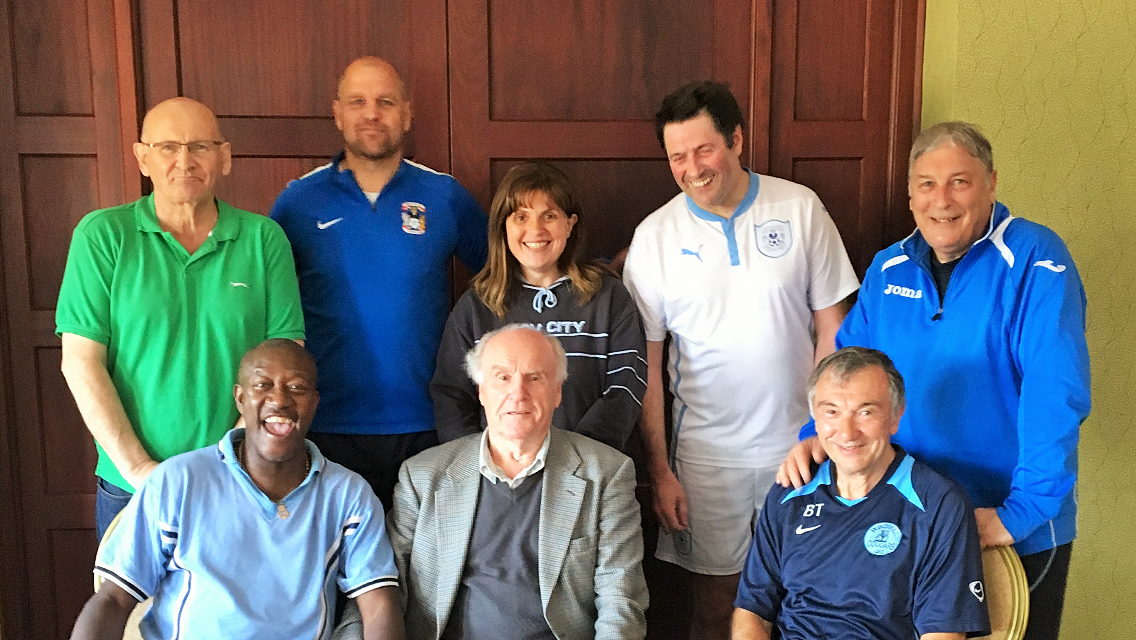 Assorted CCFPA Members & Sky Blue Shirts!