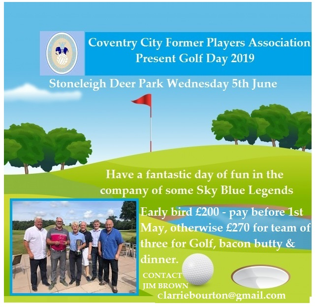 CCFPA's Golf Day 2019 Takes Place Next Week: Snap Up Any Remaining